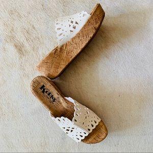 KORKS BY KORK-EASE Wedge Sandals
